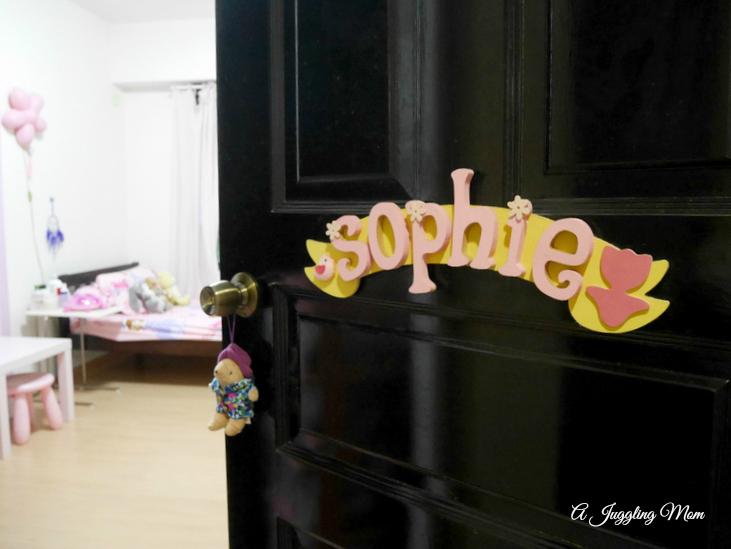Little Sophie's bedroom