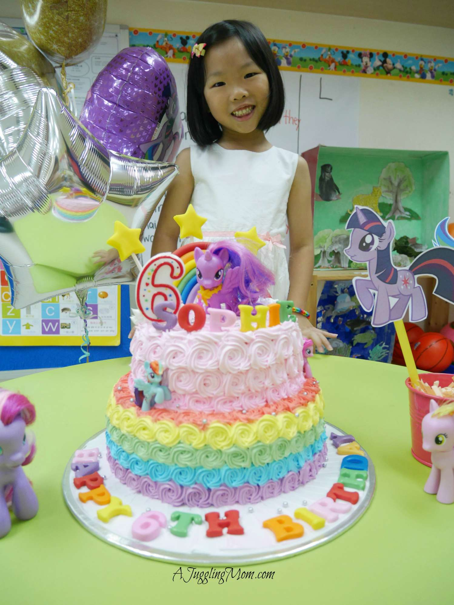 Sophie Turns 6 My Little Pony Birthday Party Friendship Is Magic