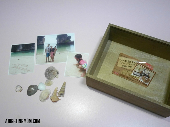 Vacation memory box 01