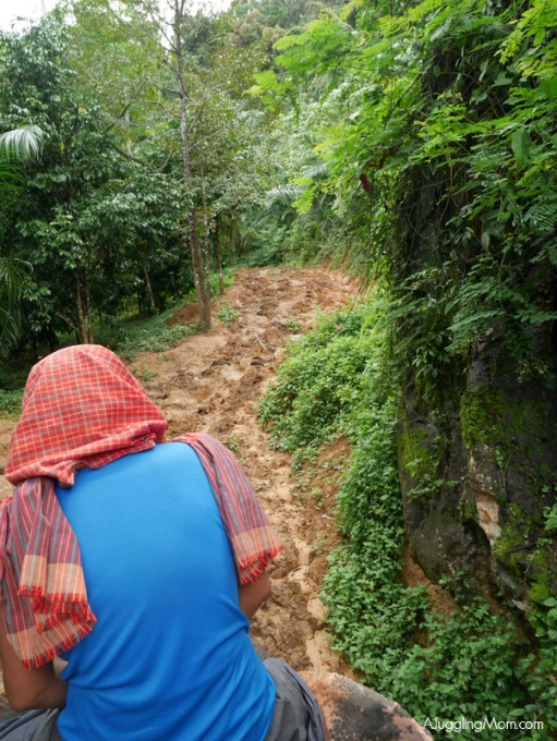 Elephant trekking Krabi 005