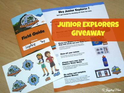 Junior Explorers Giveaway